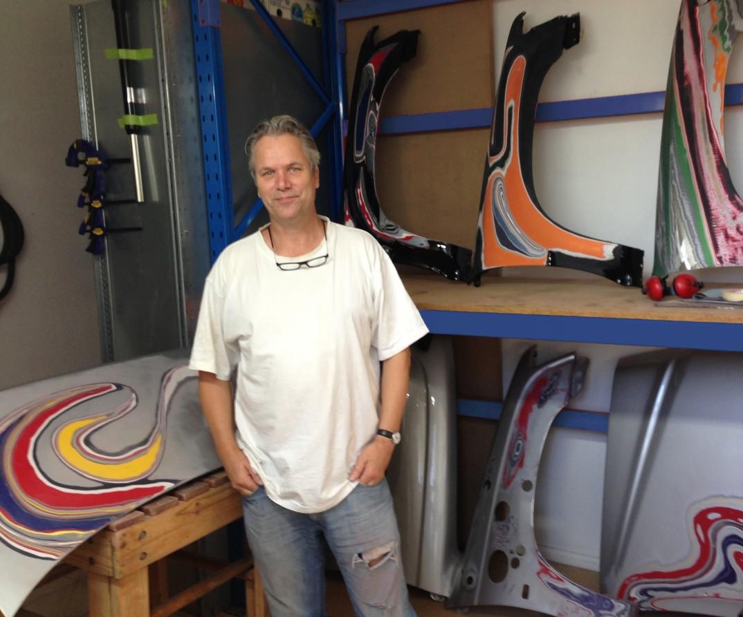 Me in St Kilda studio